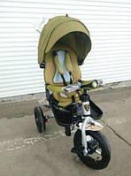 Трехколесный велосипед-коляска Azimut Crosser T-400 BI