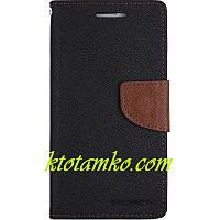Чехол Book Cover Goospery Xiaomi Redmi Note 3 Black