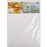 """Бумага для черчения А4 AmberGraphic """"Графика"""" 10 листов, 200г/м², в п/п пакете"""