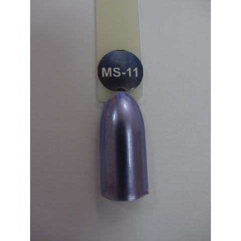 Гель-лак металлик Nice for you MS-11 сиренево-голубой 8,5 мл