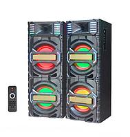 """Активная акустическая система колонки Ailiang DT-7720, Bluetooth, 2x150W, 10"""" дюймов, подсветка"""