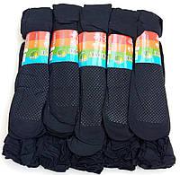 Носки женские капрон рулон, пучок с тормозами Ласточка, 23-25 размер, чёрные, 1295