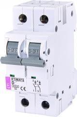 Автоматический выключатель ETIMAT 6 2p С 10А