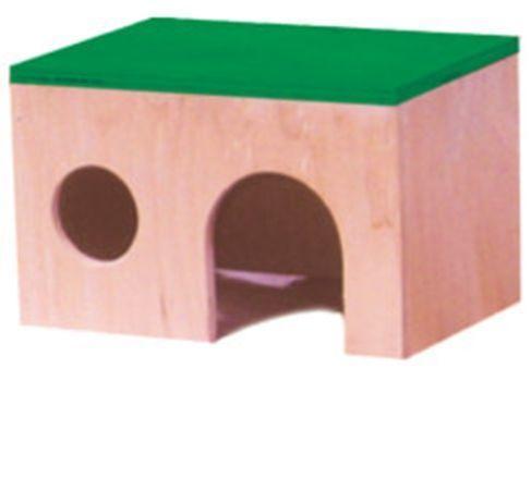 Домик для хомячка (дерево цвет) Д-014 Лори