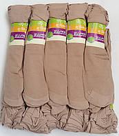 Носки женские капрон рулон, пучок Ласточка, 23-25 размер, светло-бежевые №5, 1196