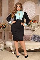 Платье Офис большого размера 48-94 батал