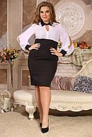 Платье Скарлет большого размера 48-94 батал