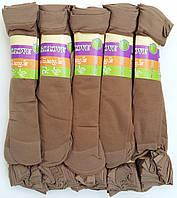 Носки женские капрон рулон, пучок Ласточка, 23-25 размер, бежевые №10, 1198, фото 1