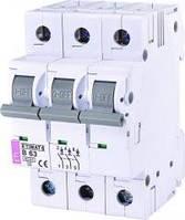 Автоматический выключатель ETIMAT 6 3p С 6А