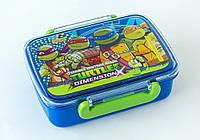 Контейнер для еды 1 Вересня Ninja Turtles с разделителем 705780