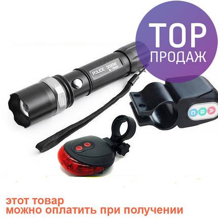 3 в 1 лазерная дорожка сигнализация и вело фонарик , фото 2