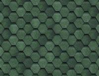 Мягкая кровля Шинглас ФИНСКАЯ ЧЕРЕПИЦА (зеленый)