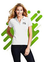 Женская рубашка поло с коротким рукавом SOL'S для нанесения логотипа, Белая, 11338