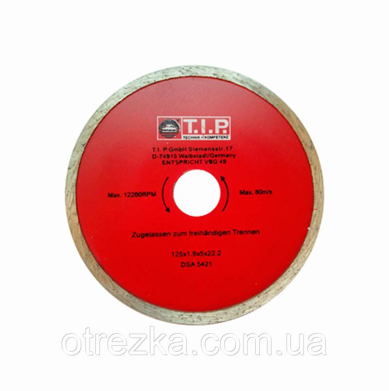 Алмазный диск  T.I.P. 115х5х22 плита