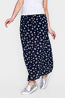 Длинная женская юбка из шифона