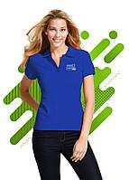 Женская рубашка поло SOL'S для нанесения логотипа, Синий, 11338