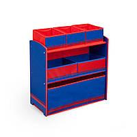Органайзер - ящик для игрушек Синий Delta Children