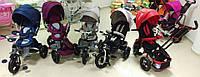 Детский трехколесный велосипед Crosser Transformer T-500 modi 6 в 1 BI