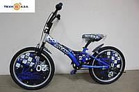 """Велосипед детский 20"""" FORMULA VOLCANO синий"""