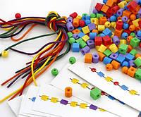 Набор для обучения Пластиковые бусы (1041-6R), Gigo