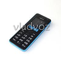 Корпус Nokia 108 синий с клавиатурой class AAA