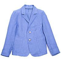 Льняной пиджак InComer (синий)