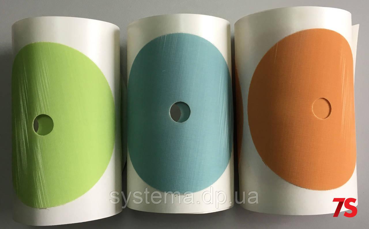 Шлифовальные диски Trizact 268ХА, зерно А10, голубой, 125мм, рулон 25 шт.
