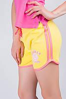 Шорты женские летние, стрейчевые AG-0003472 (Желтый)