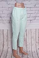 Женские стильные летние брюки больших размеров Yimeite (код 102)