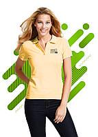 Женская рубашка поло SOL'S для нанесения логотипа, Песочный цвет, 11338