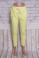 Укороченные женские брюки больших размеров (код 801)