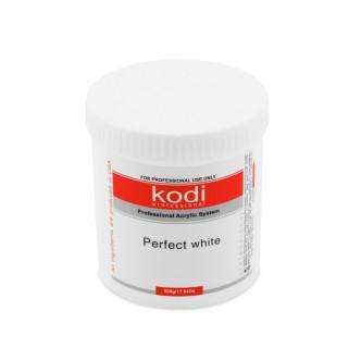 Perfect White Powder (Базовый акрил белый) 500 гр Kodi