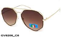 Солнцезащитные очки оригинальной формы женскиеGV8206 C6