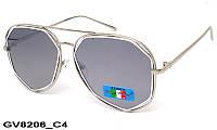 Солнцезащитные очки оригинальной формы женские GV8206 C4
