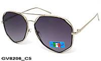 Солнцезащитные очки оригинальной формы женские GV8206 C5