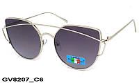 Солнцезащитные очки оригинальной формы женские GV8207 C6
