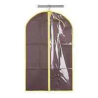 Чехол для одежды коричневый МД 100х60 см UC09975