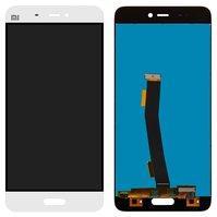 Дисплей для мобильного телефона Xiaomi Mi5, белый, с сенсорным экраном