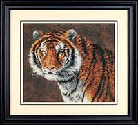 """03236 • Набор для вышивания крестом """"Тигр//Tiger"""" DIMENSIONS"""
