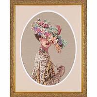 """03823 • Набор для вышивания крестом """"Викторианская елегантность//Victorian Elegance"""" DIMENSIONS Gold Collection"""