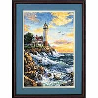 """03895 • Набор для вышивания крестом """"Скалистый берег//Rocky Point"""" DIMENSIONS Gold Collection"""