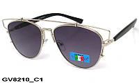 Солнцезащитные очки оригинальной формы GV8210 C1
