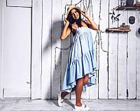 Красивое и нежное платье со шлейфом