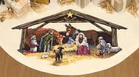 """08814 • Набор для вышивания крестом """"Место Рождества//Nativity Scene Tree Skirt"""" DIMENSIONS, шт"""