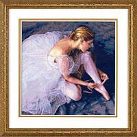 """35181 • Набор для вышивания крестом """"Красота балерины//Ballerina Beauty"""" DIMENSIONS Gold Collection"""
