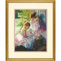 """70-35280 • Набор для вышивания крестом """"Мечта балерины//Ballerina Dreams"""" DIMENSIONS Gold Collection"""