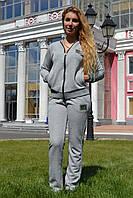 Женский спортивный летний костюм из трикотажа; разм 44, 46,48, фото 1