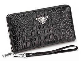 Клатч Prada Wallet4-2671 черный