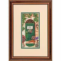 """70-65126 • Набор для вышивания крестом """"Тосканское приветствие//Tuscan Welcome"""" DIMENSIONS"""