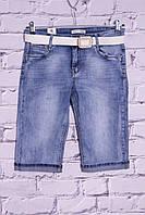 Женские джинсовые шорты батал Moon Girl (код 8336)